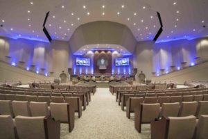 A Little About Design And Construction Of Church Worship Space